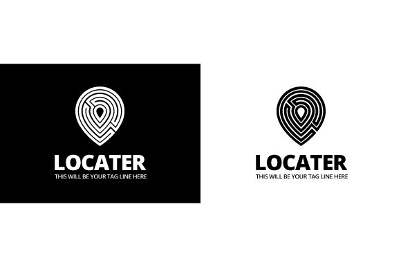 Locater Logo Template in Logo Templates - product preview 3