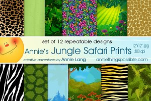 Annie's Jungle Safari Prints