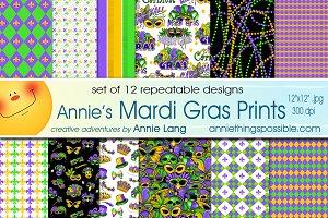 Annie's Mardi Gras Prints
