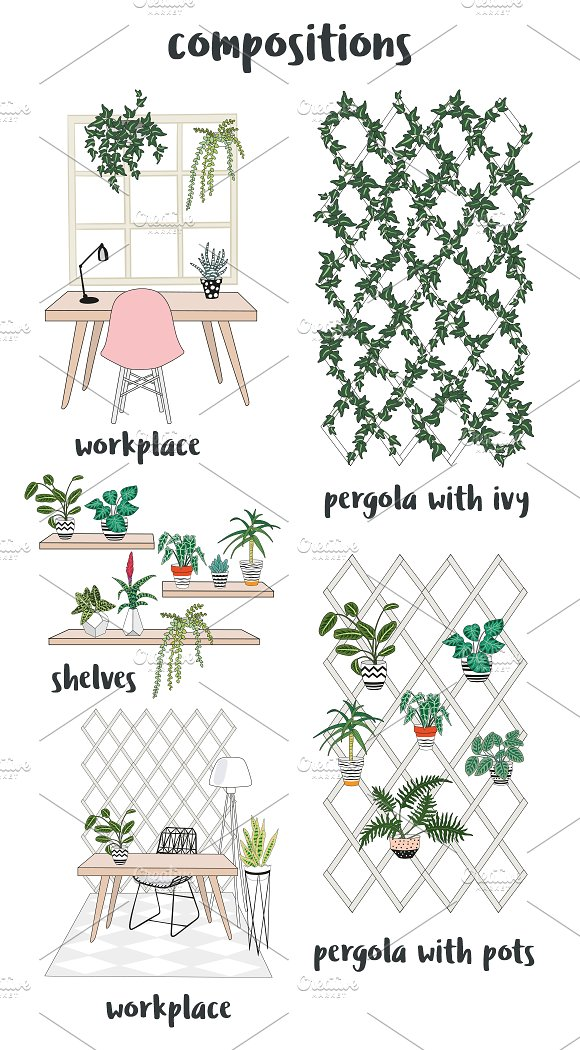 Interior creator in Illustrations - product preview 2