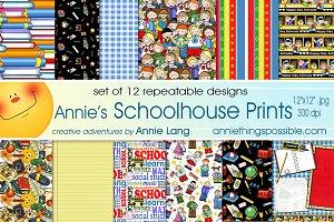 Annie's Schoolhouse Prints