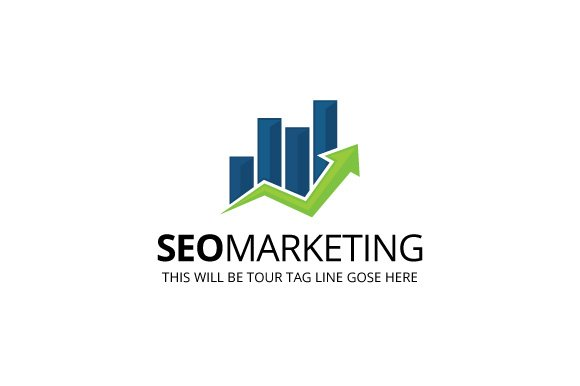 Seo marketing logo template logo templates creative market altavistaventures Choice Image
