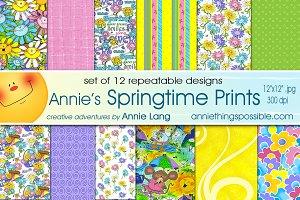 Annie's Springtime Prints