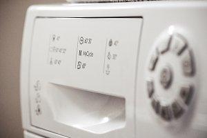Washing programs on washing machines