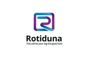 Rotiduna Logo Template
