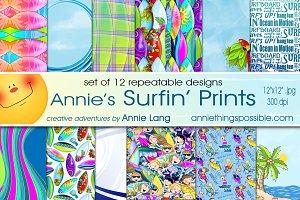 Annie's Surfin' Print