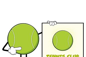 Tennis Ball Faceless