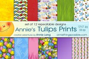 Annie's Tulip Prints