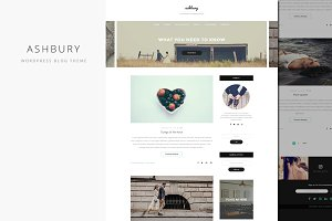 Ashbury - Clean WordPress Blog Theme