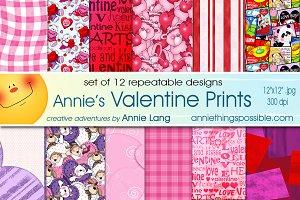 Annie's Valentine Prints