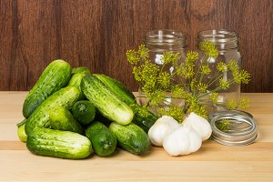 Pickles and ingredients