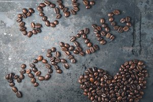 Good morning, heart of the coffee beans