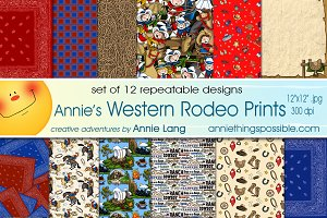 Annie's Western Rodeo Prints