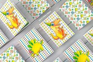 Dinosaur Birthday Card Collection