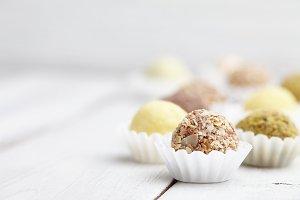 Handmade truffle chocolates