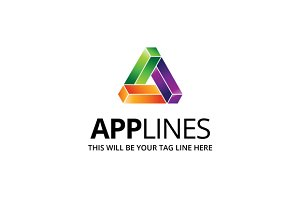 Applines Logo Template