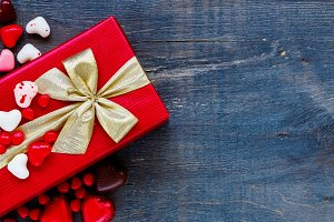 Red Holidays gift