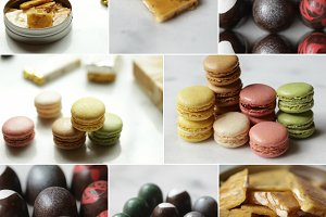 Monster-Pack Candy-Macarons-Truffes