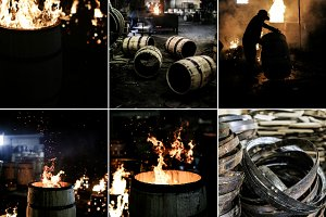 Bourbon Barrel Making Photo Pack