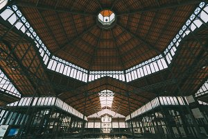 inside of cultural center El Born