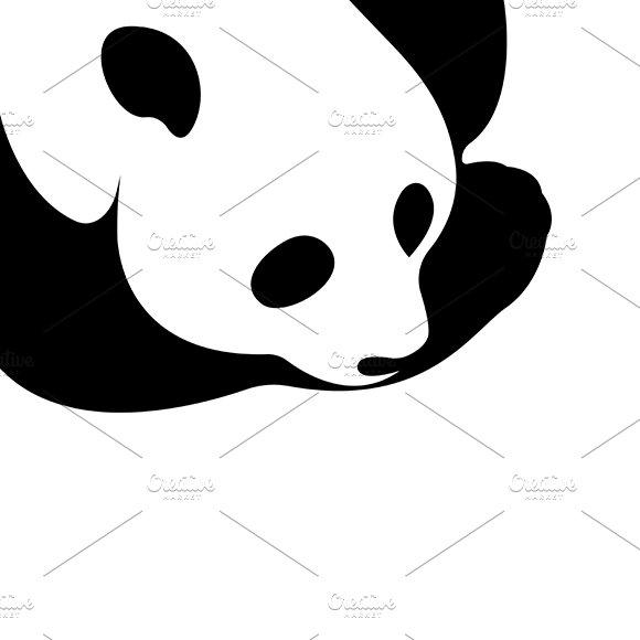 Vector of a panda design in Illustrations