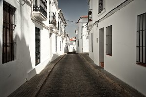Andalusian typical street