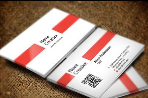 Nova Creative Business Card