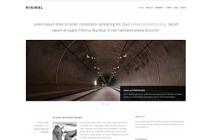 Minimal - Blog WordPress Theme