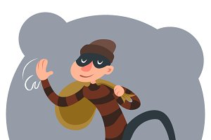 Thief Escapes