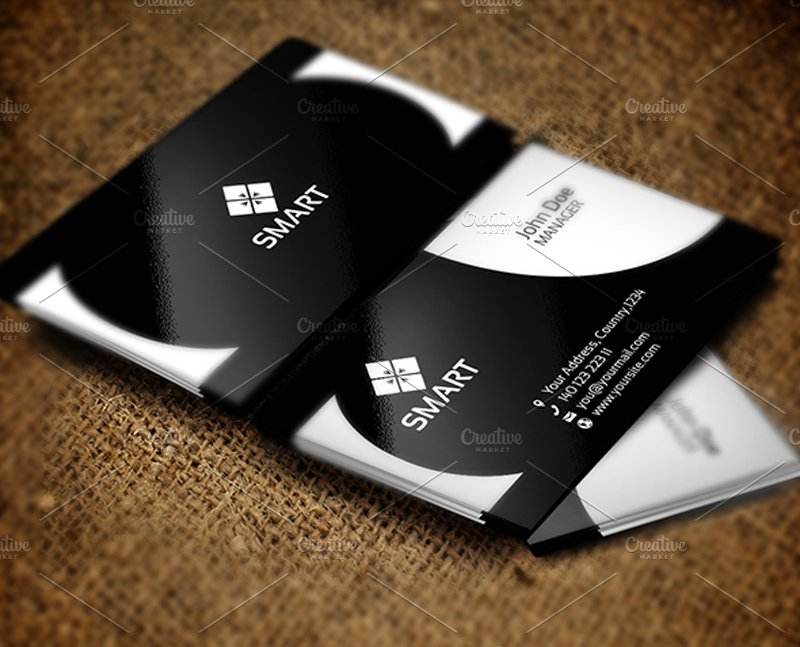 Smart Business Card ~ Business Card Templates ~ Creative Market