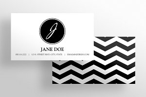 The Crafter - Business Card Template