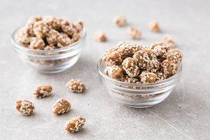 Caramel Coated Peanut
