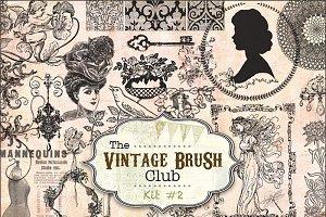 40 Vintage Brushes #2