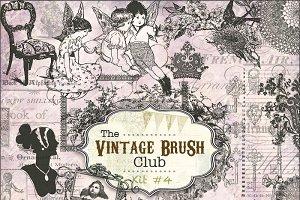 40 Vintage Brushes #4