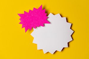 Blank promotional sign