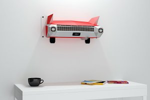 DIY Car Back - 3d papercrafts