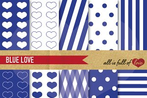 Navy Blue Background Patterns