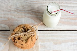 Cookies and Milk Square