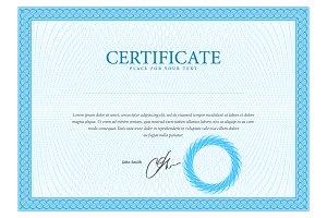 Template border diplomas