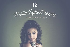 Pack 12 Lightroom Presets Matte
