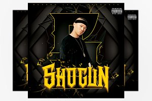 Shogun Mixtape Cover Template