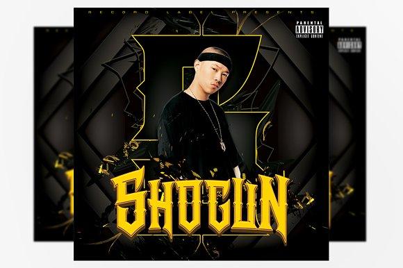 Shogun Mixtape Cover Template in Templates