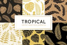 6 Tropical seamless patterns