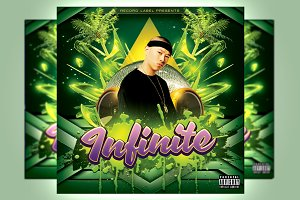 Infinite Mixtape Cover Template