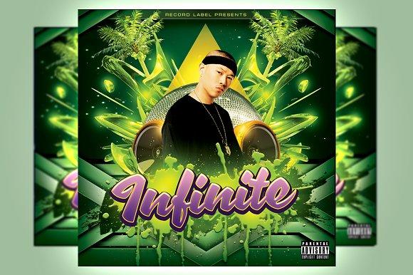 Infinite Mixtape Cover Template