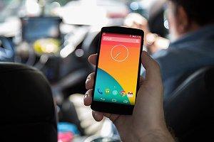 Nexus5 template, Taxi (L)