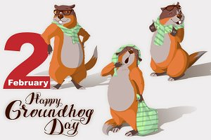 Happy Groundhog Day. Marmot