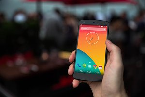 Nexus5 template, Restaurant (S)