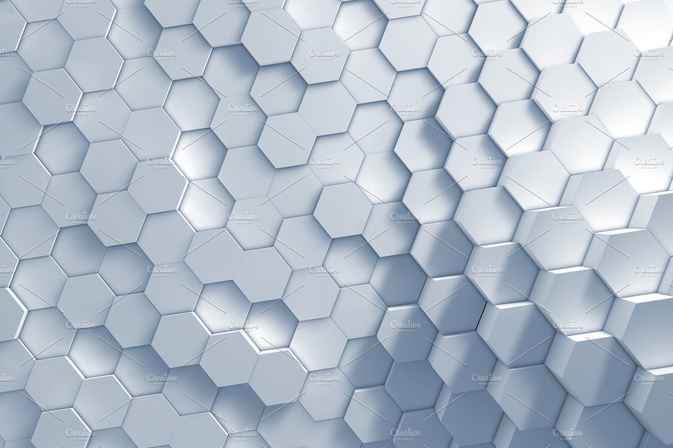 Geometric Hexagon Pattern Background Abstract Photos