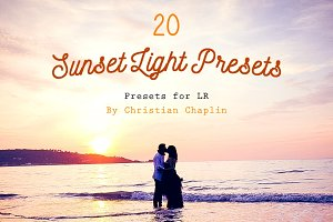 Pack 20 LR Presets Sunset Light